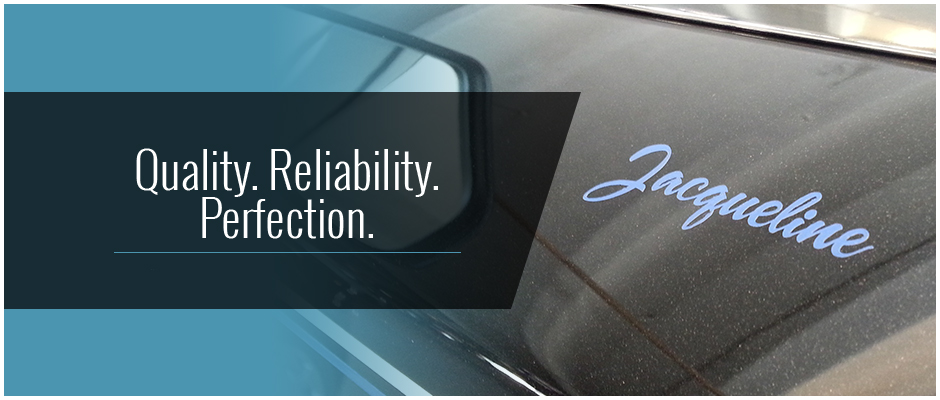 Quality. Reliability. Perfection.